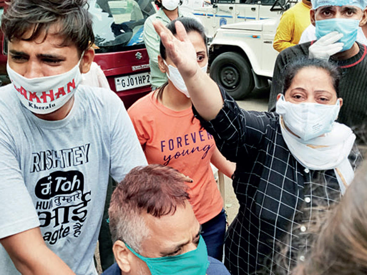 8 Covid-19 patients dead in fire at Ahmedabad hospital