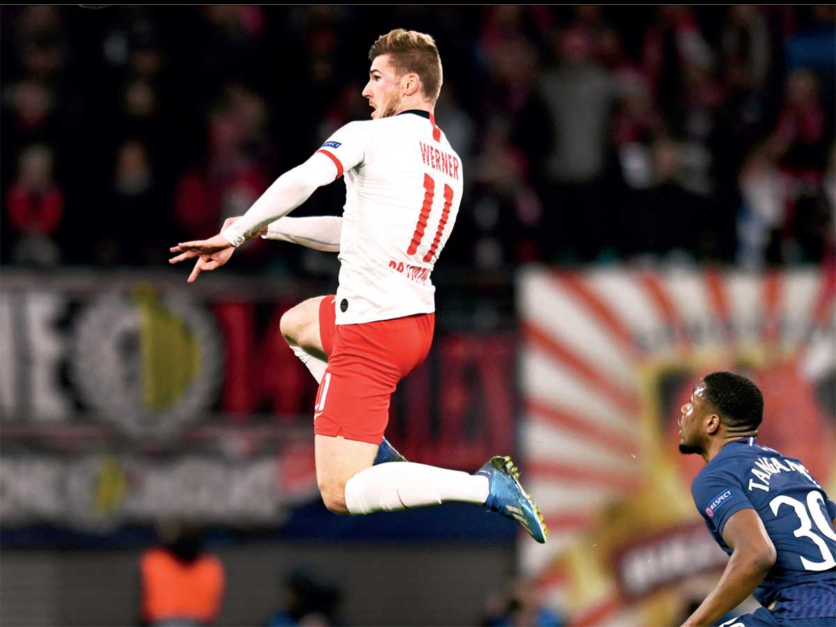 Rb Leipzig Knock Out Tottenham To Claim First Ever Champions League Quarter Final Berth