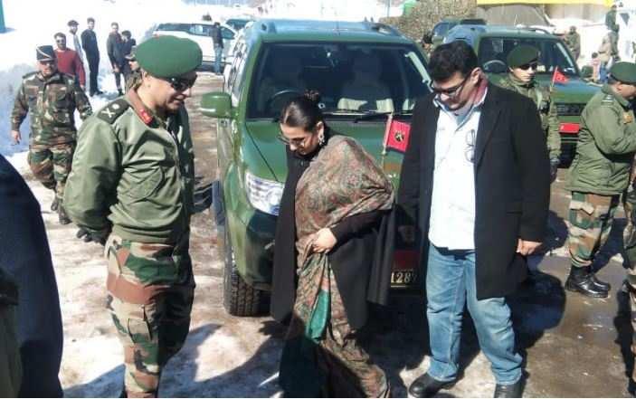 B-town celebrities, snowmobiles, 'Rouf' light up Kashmir winters |  India News