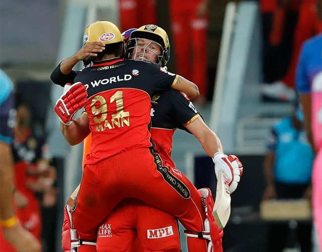 RR vs RCB: Villiers blinder's AB Sets Royal Challengers Bangalore's Incredible Win Over Rajasthan Royals | Cricket news