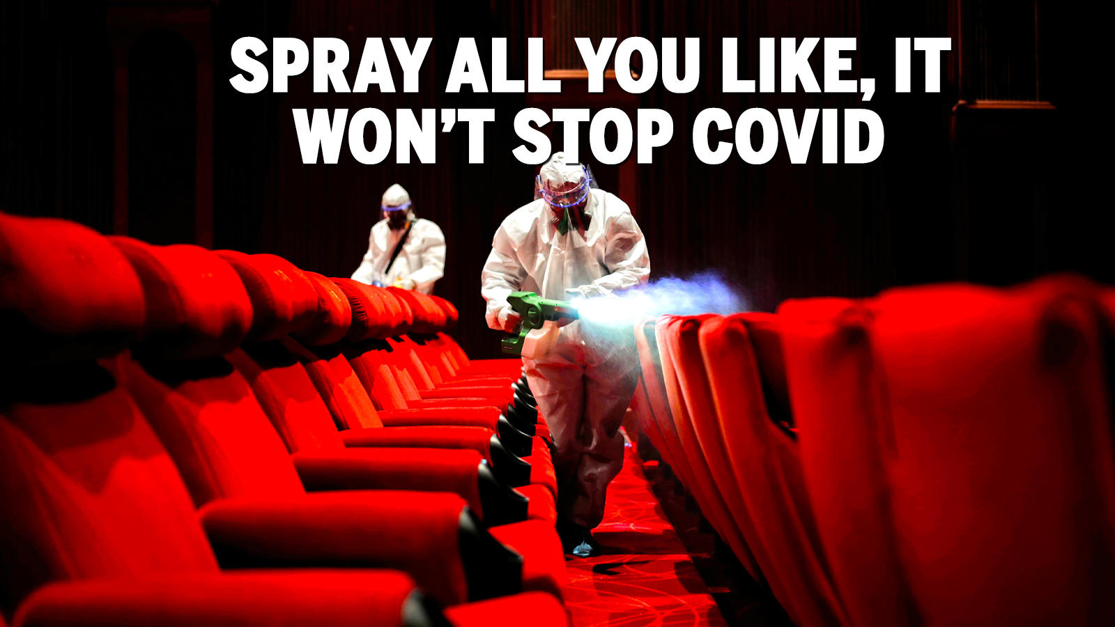 Image result for Time to stop the hygiene theater