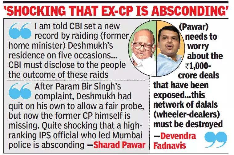 Centre misusing agencies to 'hound' MVA govt, says Sharad Pawar