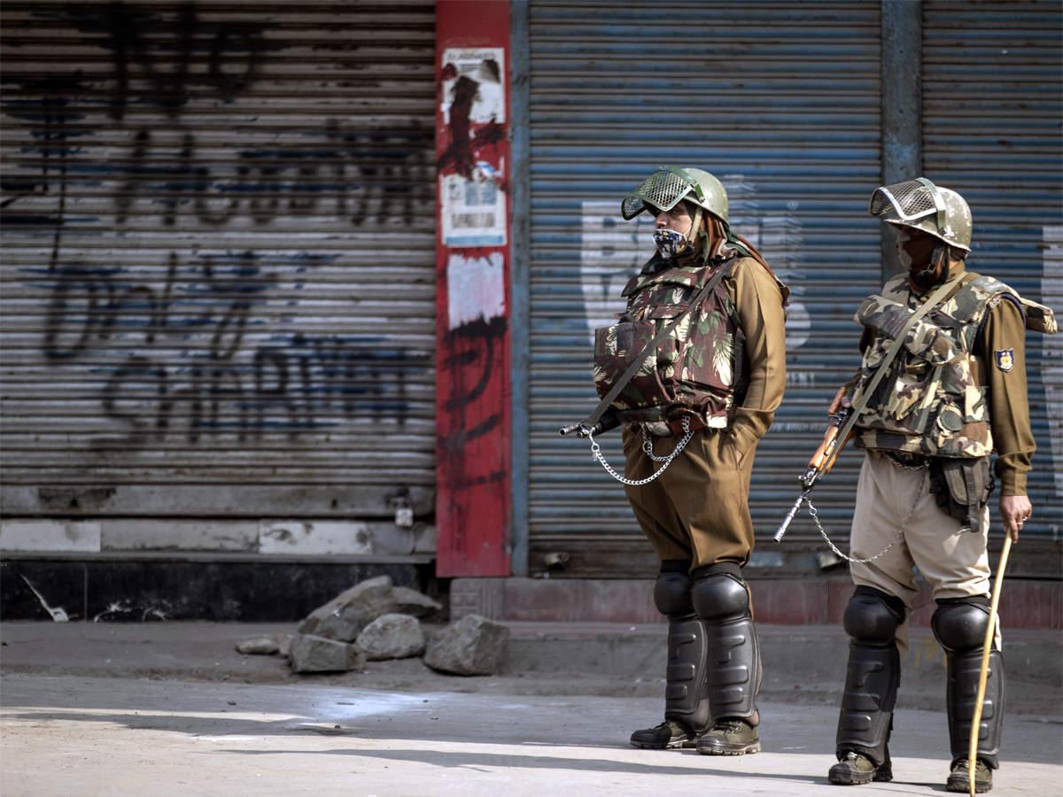 Kashmir shuts down against land laws