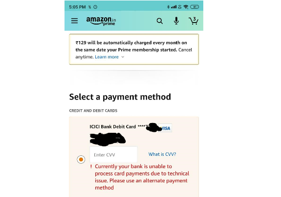 ICICI Bank Faces 'Technical Issue', Online Transactions Fail