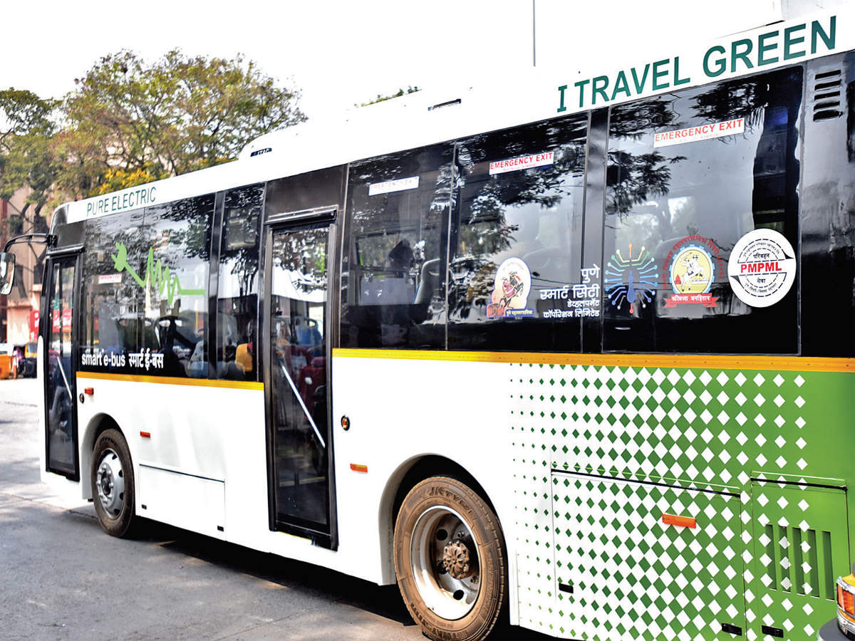 Pune: Electric buses are a hit among PMPML users