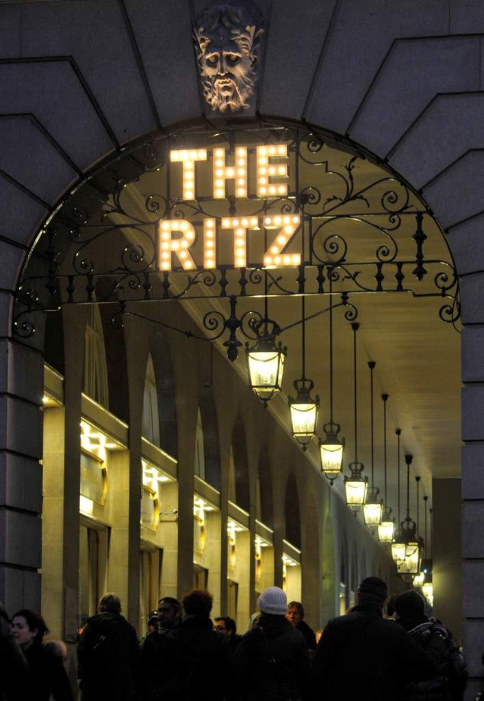 High tea at The Ritz