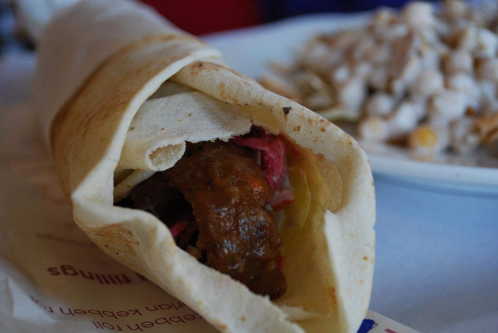 Late night shawarmas at Maroush