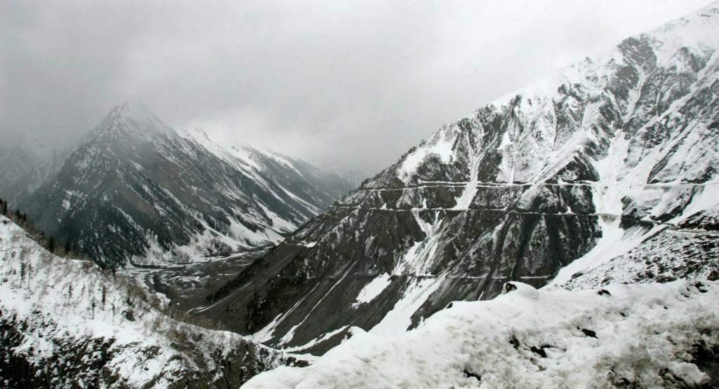 Rajeev's 'stormy' trip to Leh