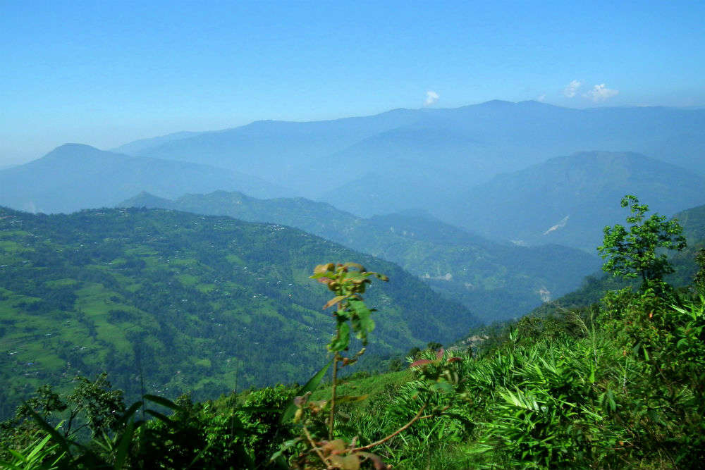 Darjeeling during off-season