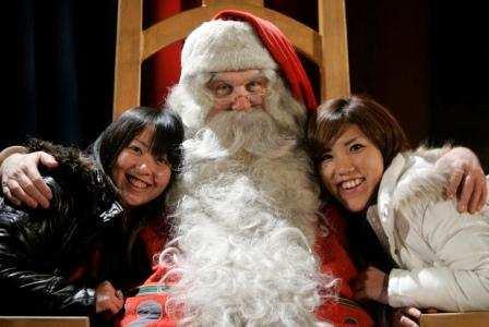 Santa in Switzerland