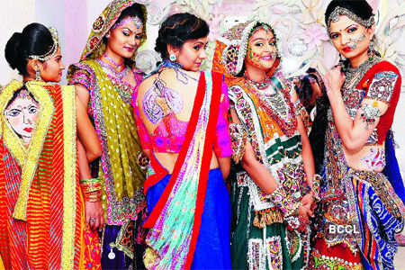 Getting Into The Garba Groove Times Of India