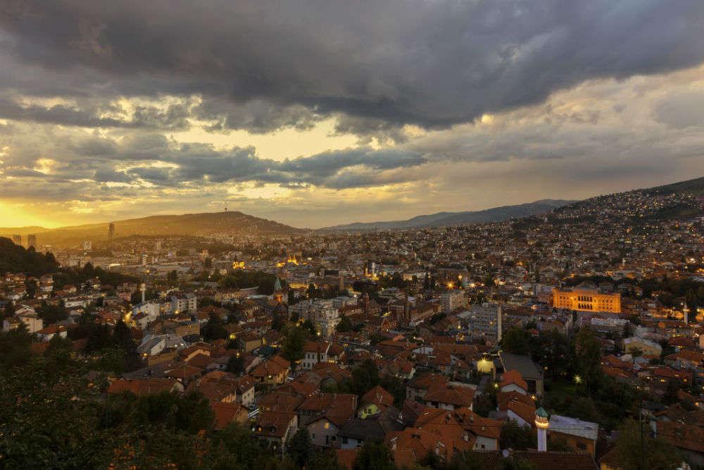 Time travelling in Sarajevo