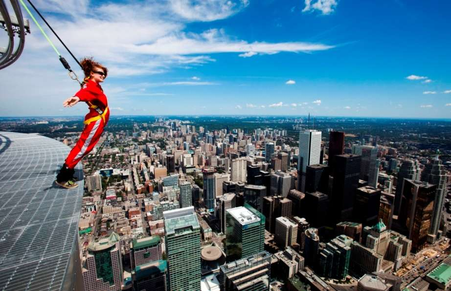 Walk on the edge of the CN Tower