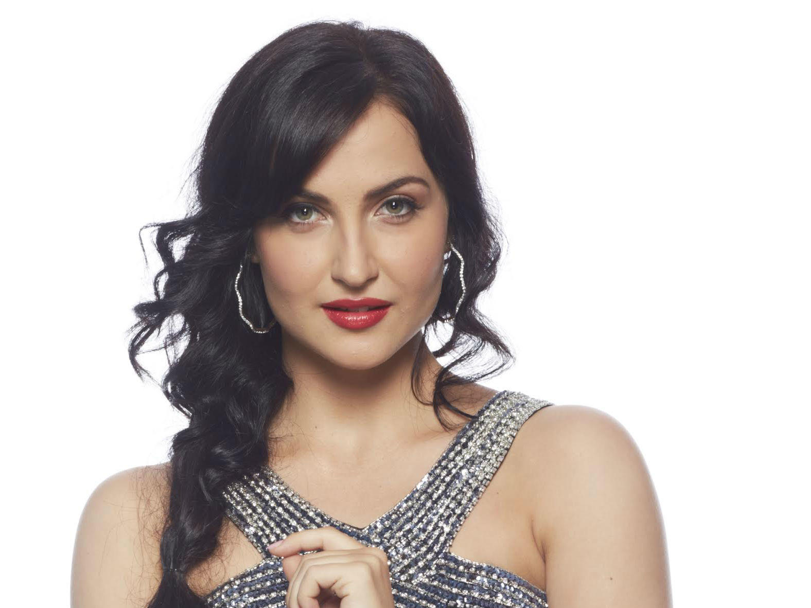 Image result for ELLI AVRAM PICTURE ON THE SET OF THE DANCE SHOW