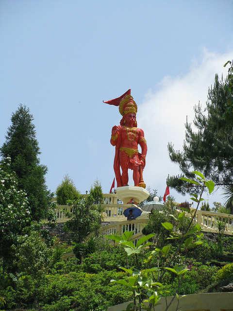 Ganesh Tok and Hanuman Tok