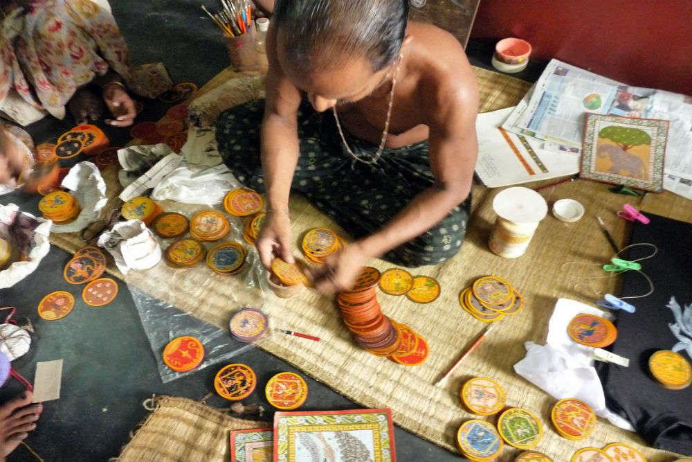 Raghurajpur Handicrafts Village
