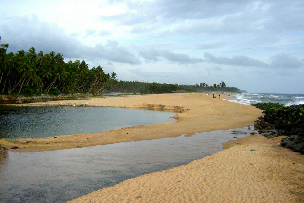 Kappil Beach and Lake
