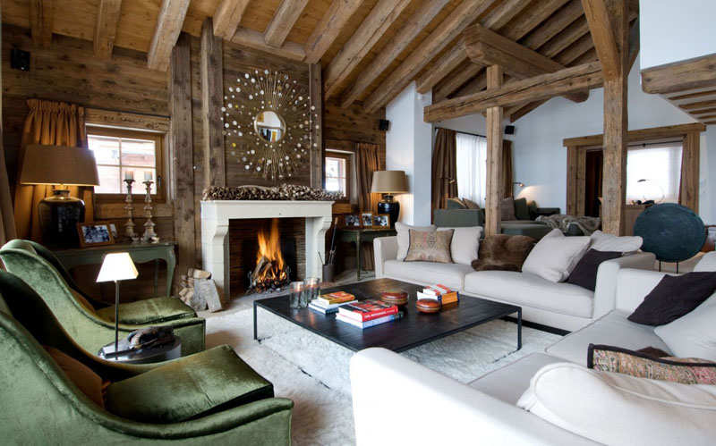 Swiss skiing haven: the Chalet Dent Blanche