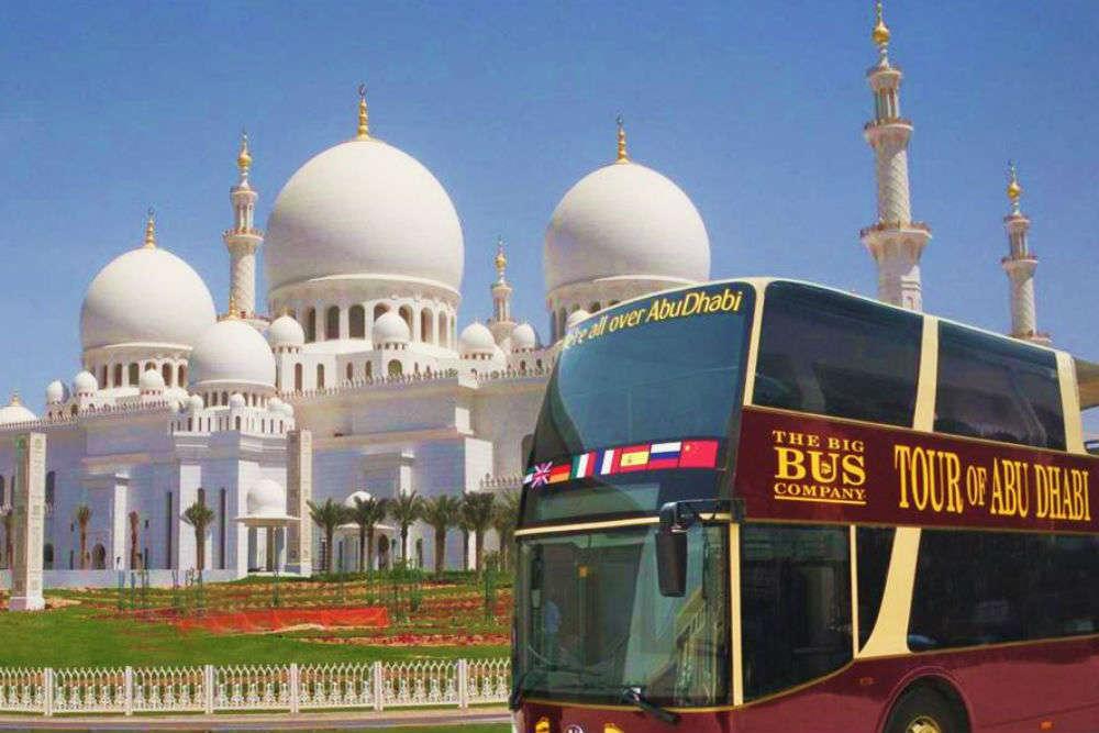 Big Bus Tour in Abu Dhabi