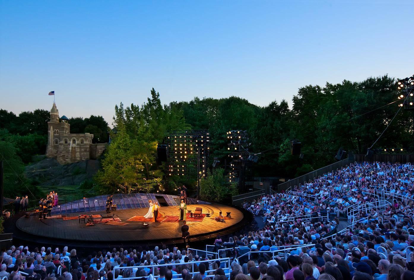 Enjoy Shakespeare in the Park