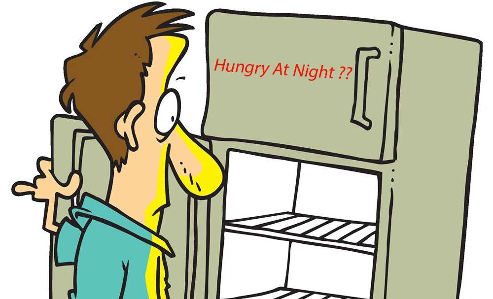 When hunger strikes at midnight