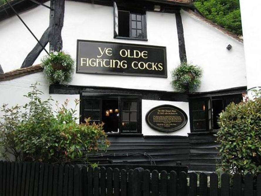 An English pub trail