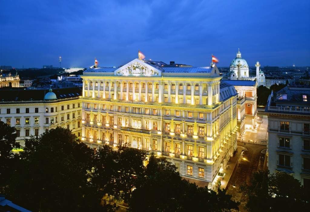 The top 5 luxury hotels in Vienna