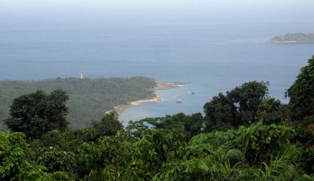Mt. Harriet, the Andamans