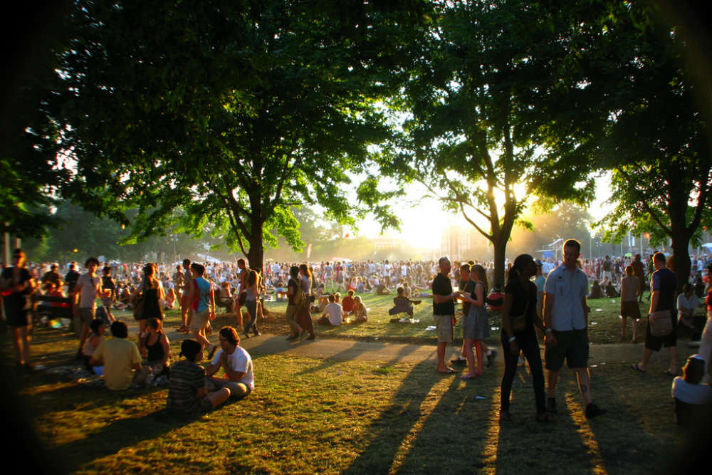Pitchfork Music Festival, USA (July)