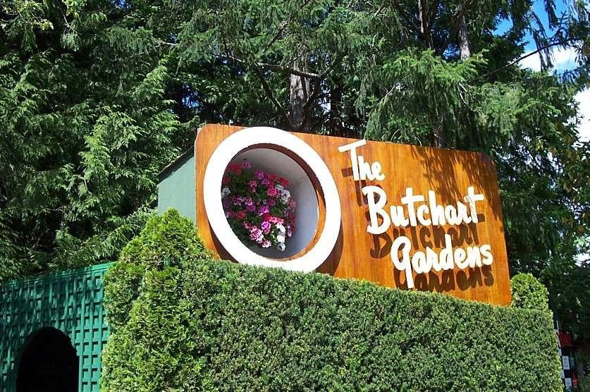 Butchart Gardens, Brentwood Bay, Canada
