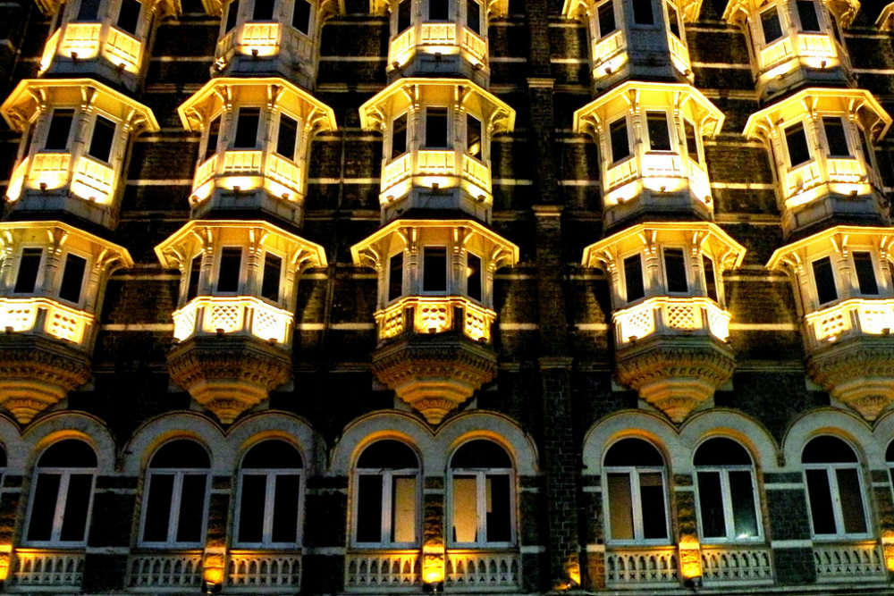 Taj Mahal Palace and Tower shopping arcade