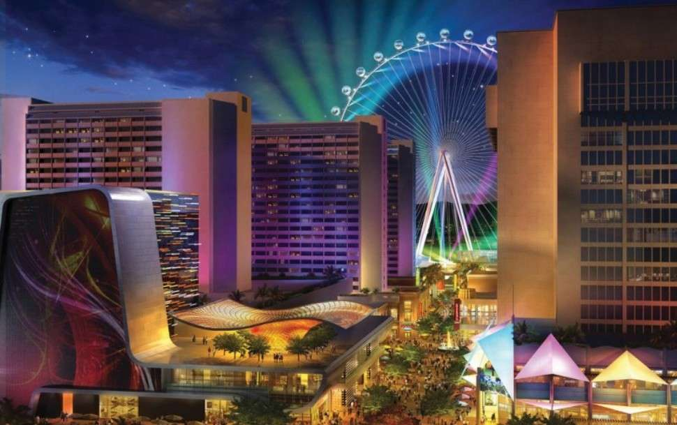 The world's largest ferris wheel debuts in Las Vegas