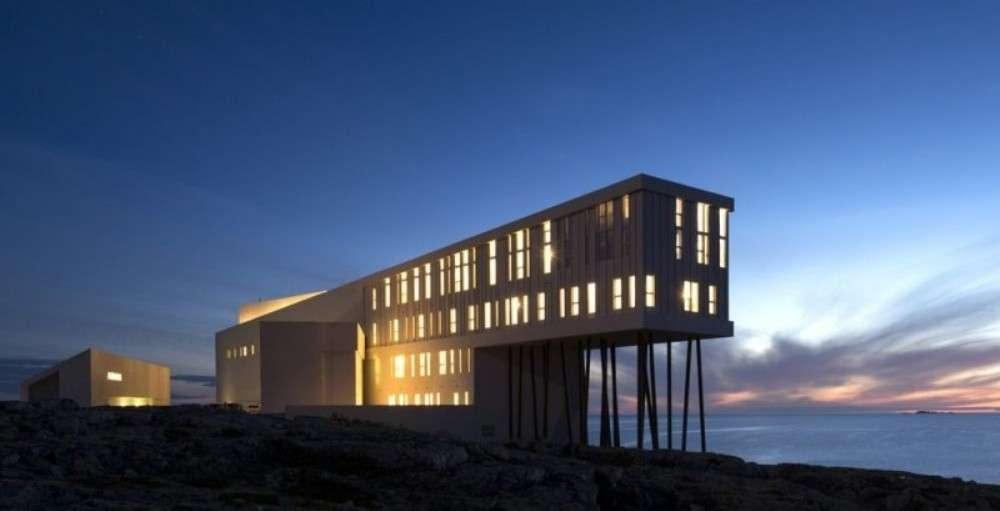 Inside Fogo Island Inn, Newfoundland, Canada