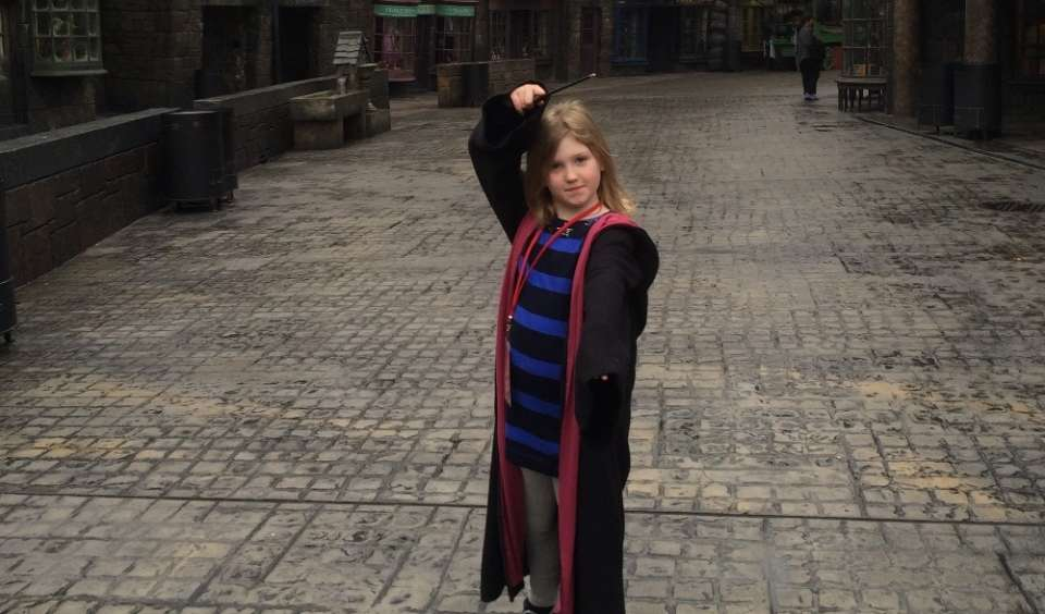 Inside the wizard's world: Harry Potter at Universal Studios