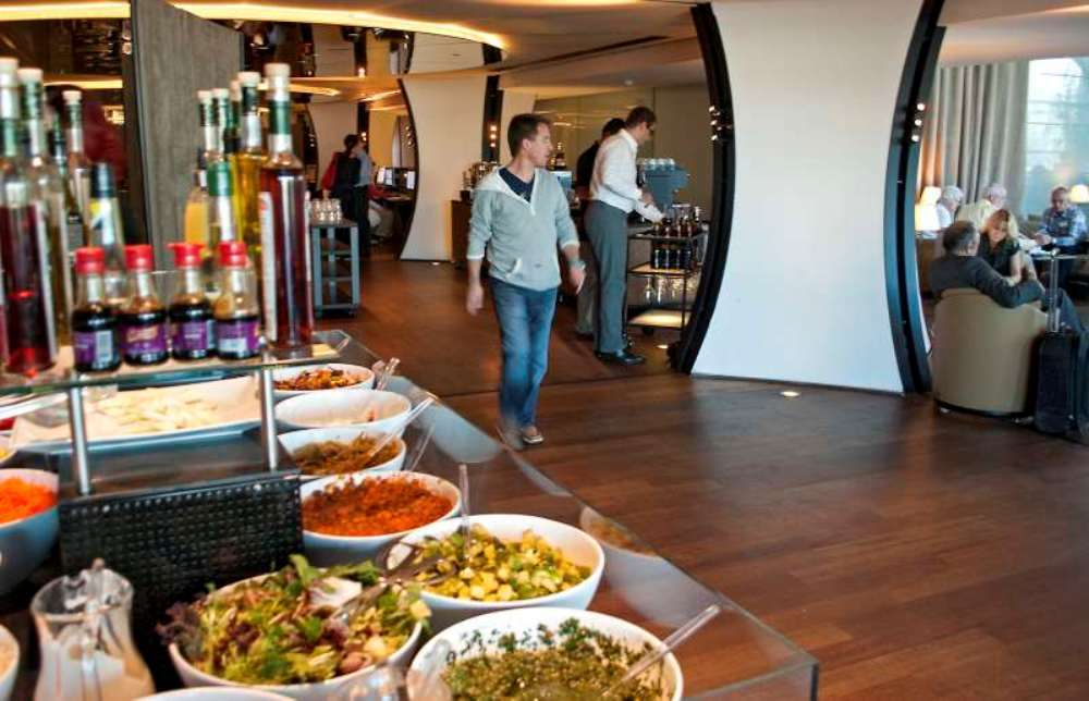 Inside Istanbul's Turkish Airlines lounge