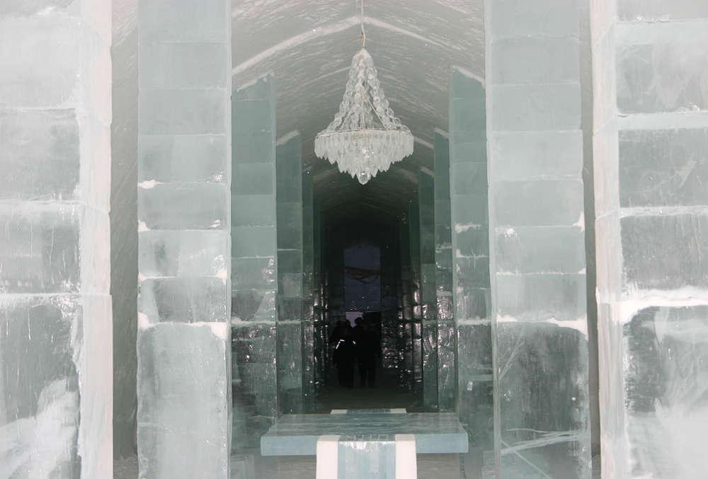 Jukkasjärvi Ice hotel, Sweden