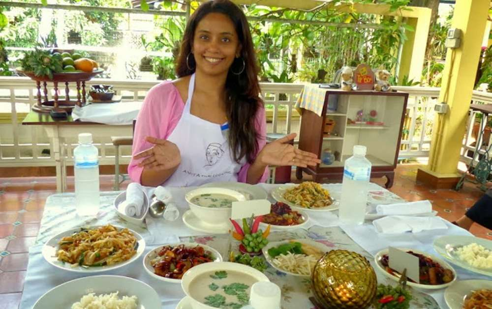 Learn cooking at Amita Thai Cooking Class