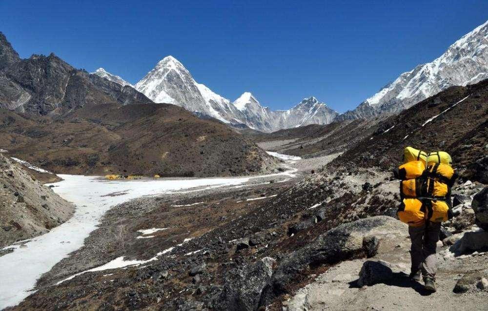 Climbing Mount Everest-Base Camp trek
