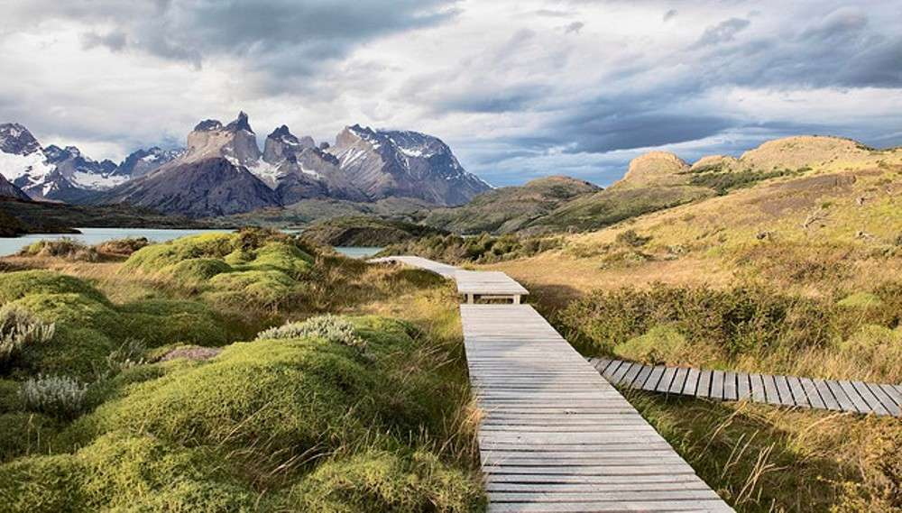 Walking in the Torres del Paine