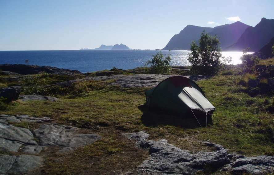 Cycling on the Lofoten Islands