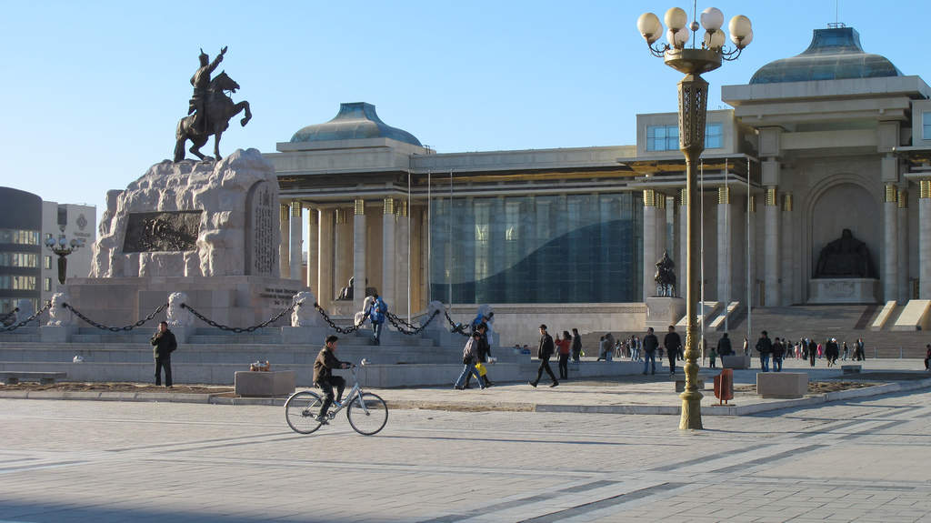 Cycling in Mongolia