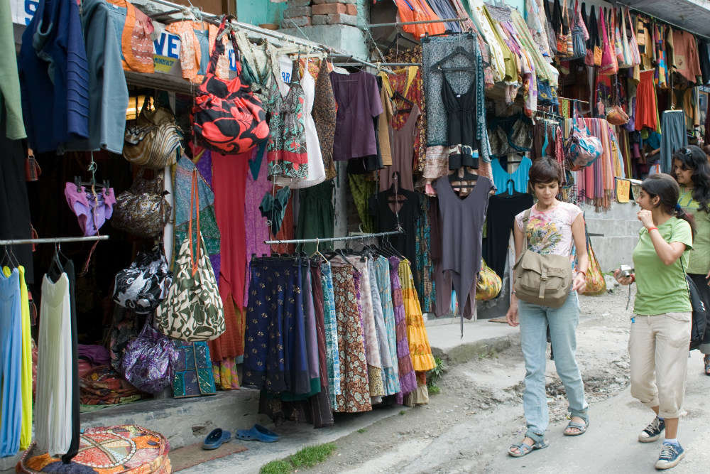 Old Manali Market