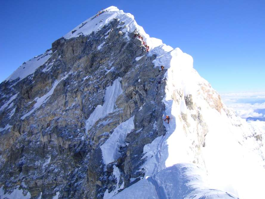 Mt Everest—summit to BC