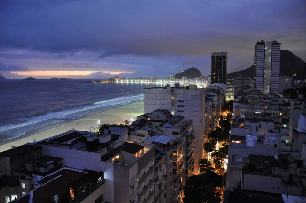 Copacabana Borough and Beach