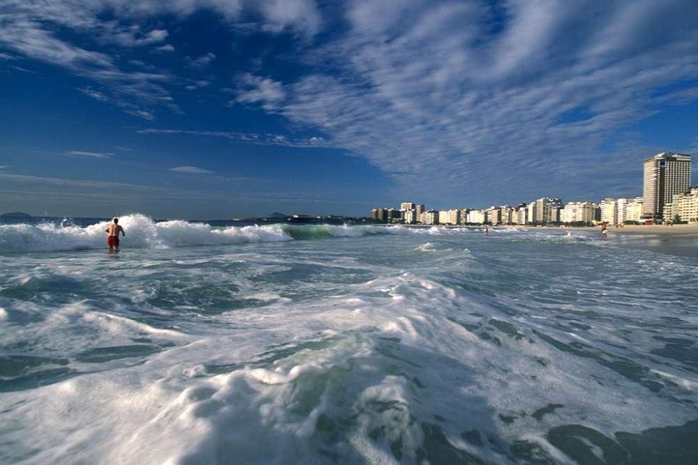 Surfing in Rio de Janeiro