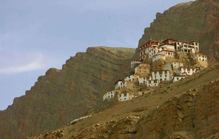 The beautiful Key Monastery