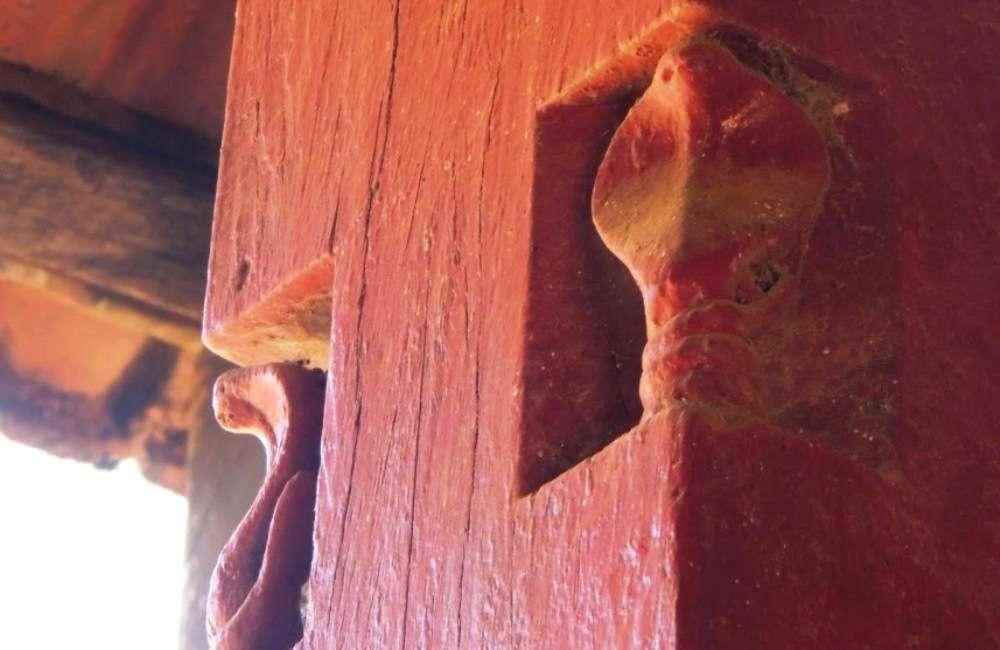 Snake art in Coorg