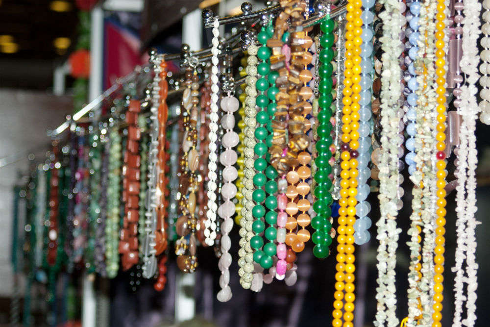 Souvenir shopping in the Andamans
