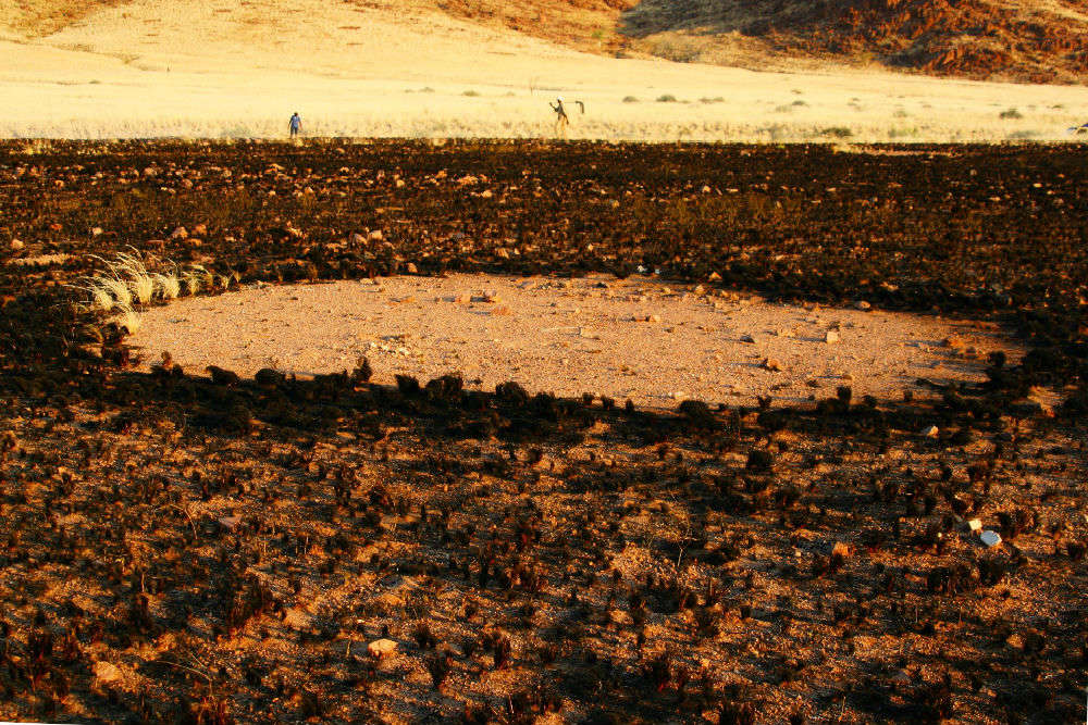 Mysterious fairy circles of Namibia