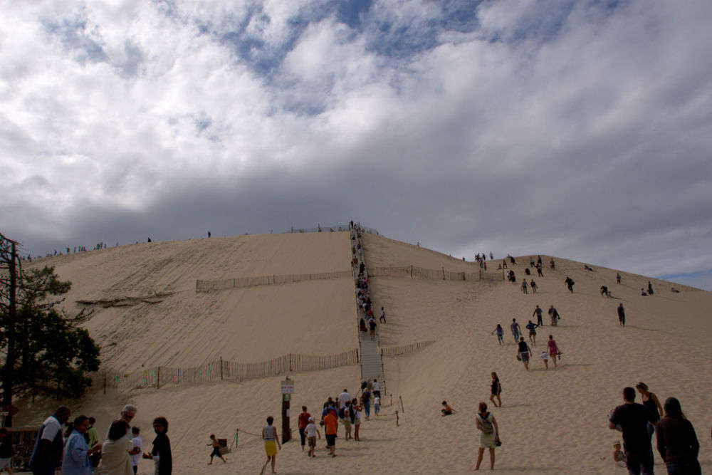 The Great Dune of Pyla: a moving desert in France